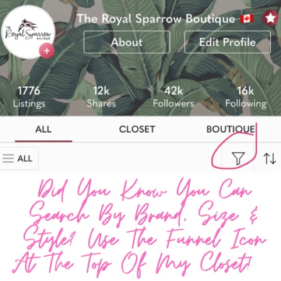Search By Brand, Size & Style! See How Below!